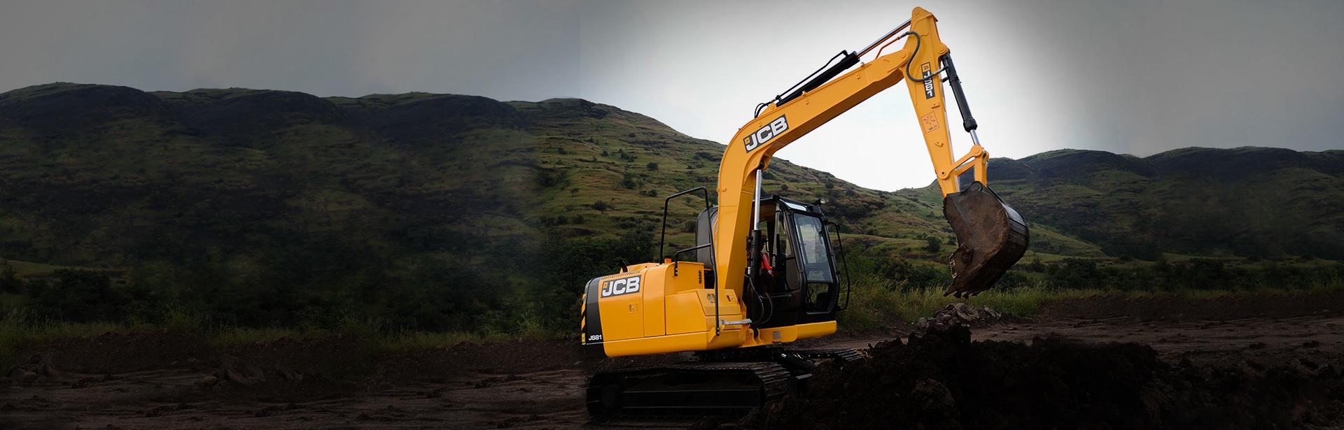 JS81 Tracked Excavators Nepal - MAW JCB